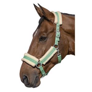 Недоуздок с искусственным мехом купить в интернет магазине конной амуниции